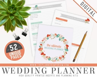 Wedding planner binder Etsy