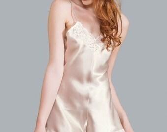 Rachel Silk Camiknicker - Luxury Collection