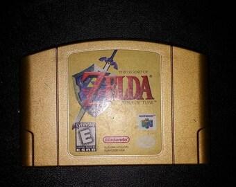 Legend of Zelda Ocarina of time Collectors Edition N64 Nintendo 64