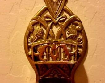Brass Matchstick Holder