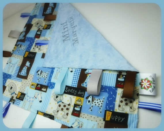 little baby tags blanket with or whitout name