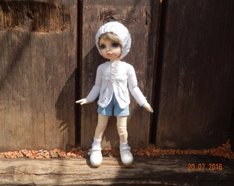 "Set "" White openwork"" format for dolls YoSD and Fairyland Little Fees"