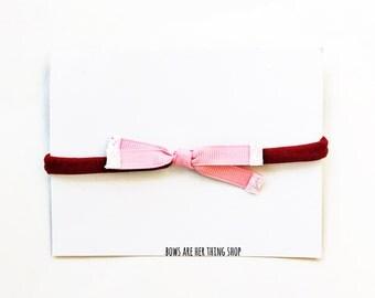PINKIE bow headband