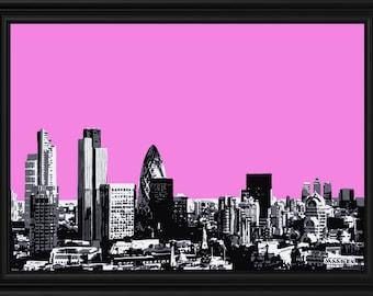 Pink London City