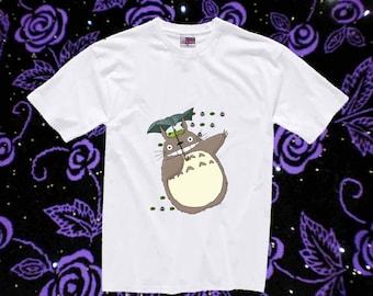 Cute Totoro shirt Toddler 2T 3T 4T tshirt and Youth XS S M L XL size tshirt kids clothing