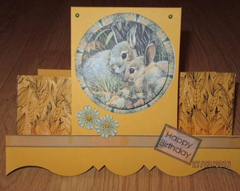 Handmade Birthday / Get Well / Easter card