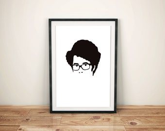Moss (The IT Crowd) Minimal Style