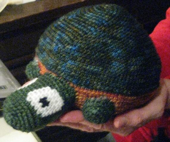 Bitty the Bashful Baby Turtle pattern
