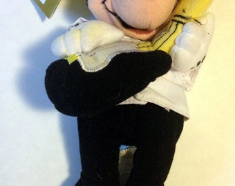 Stuffed Mickey,Disney Gift,Disney,Disney Toy,Rock n Roll Toy,Disney collectible,Mickey Toy,Rock n Roll Mickey,Disney Plush,Stuffed Disney