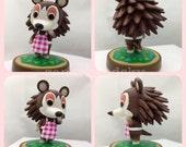 Custom amiibo - Sable (Animal Crossing)