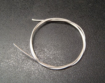 Solid Sterling Silver Wire 0.5mm
