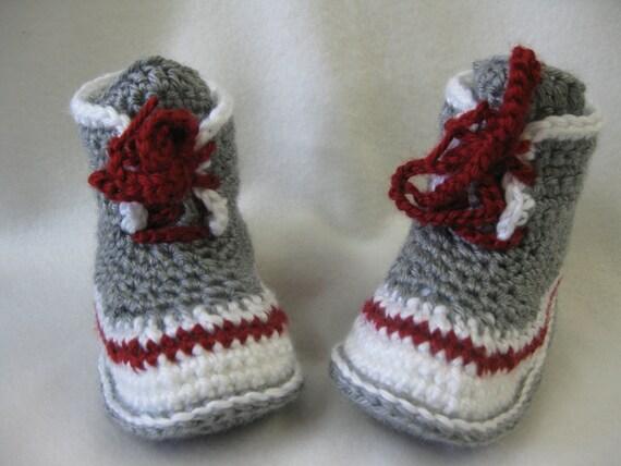 Patron Pantoufle style bottine bas de laine grandeur (8-9) (10-11) (12-13) (1-2) (3-4)