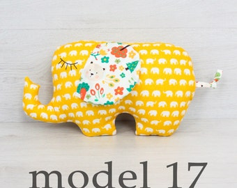 FREE SHIPPING Elephant Pillow, Stuffed Elephant, Pillow, Nursery Decor, Soft Toy, Kids Room Decor, Elephant Cushion, Decorative Pillow