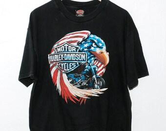 Vintage Harley Davidson Eagle Shirt
