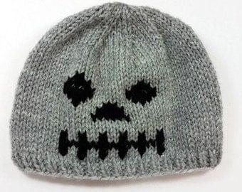 Skeleton Hat - Skeleton Beanie - Halloween Hat - Halloween Beanie - Halloween Costume - Baby Halloween Hat - Kids Halloween Hat - Photo Prop