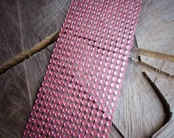 Pink Diamante Strip ~ 1 pieces #100656