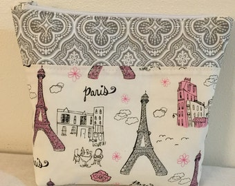 Eiffel Tower pouch