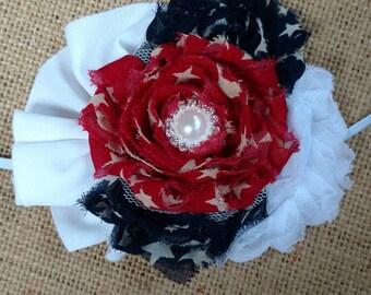 Vintage 4th of July Patriotic Headband