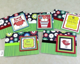 Any Occasion Notecards, Box Set Notecards, Handmade Notecards, Friendship Notcard, One of a Kind Notecard, Blank Note Card, Blank Notecard
