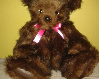 Faux Fur Teddy Bear - Custom Made