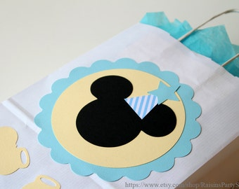 Mickey Mouse favor bags Mickey Mouse birthday party