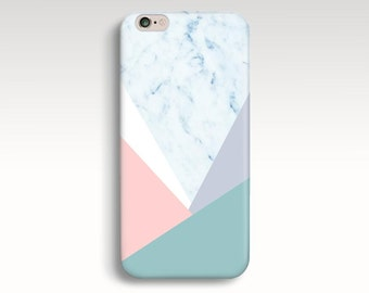 iPhone 6 Case, Marble iPhone 6s Case, Geometric iPhone 6 Plus Case, iPhone 5s Case, iPhone 5C Case, Tough iPhone 5s Case Christmas Gift