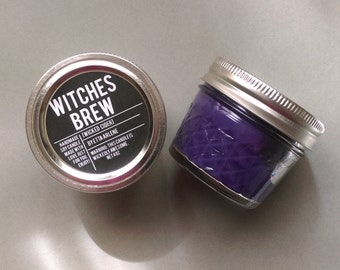 Witches Brew  Candle, Fall Candle,  Gift, Soy Candle, Purple Candle