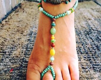 Summer Boho Barefoot Sandals