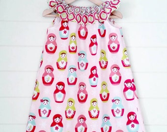 Girls Babushka Doll Dress
