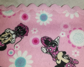 Minnie Mouse or Micky Mouse Baby Blanket