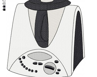 Pattern for embroidery machine thermomix 31