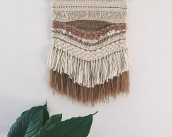 Boho handwoven wall hanging