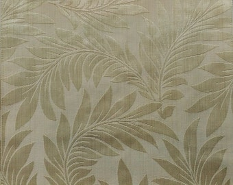 Floral Pattern Fabric in Gold