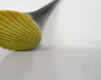 Rare Green Seashell Hair Stick