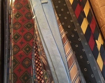 Lot sale 30 brand name neck ties