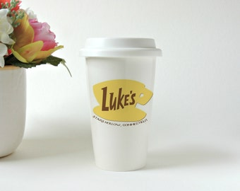Luke's Diner Mug * Gilmore Girls * Travel Mug * Ceramic Tumbler * Coffee Mug * Tea Mug * Custom Travel Mug