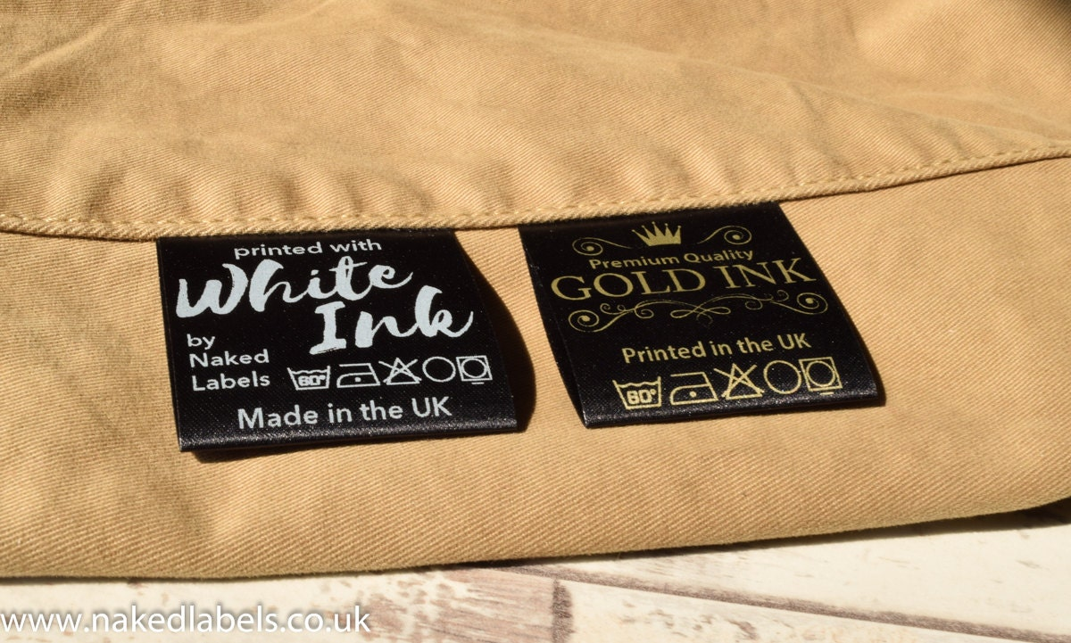 Clothing Tags: 100 X Custom Clothing Labels