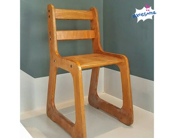 Old wooden chair for children, all very solid/France | Old wooden Chair for children. Original, French