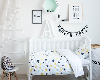 Stars Bedding - Baby Bedding Crib Bedding Set Nursery Bedding