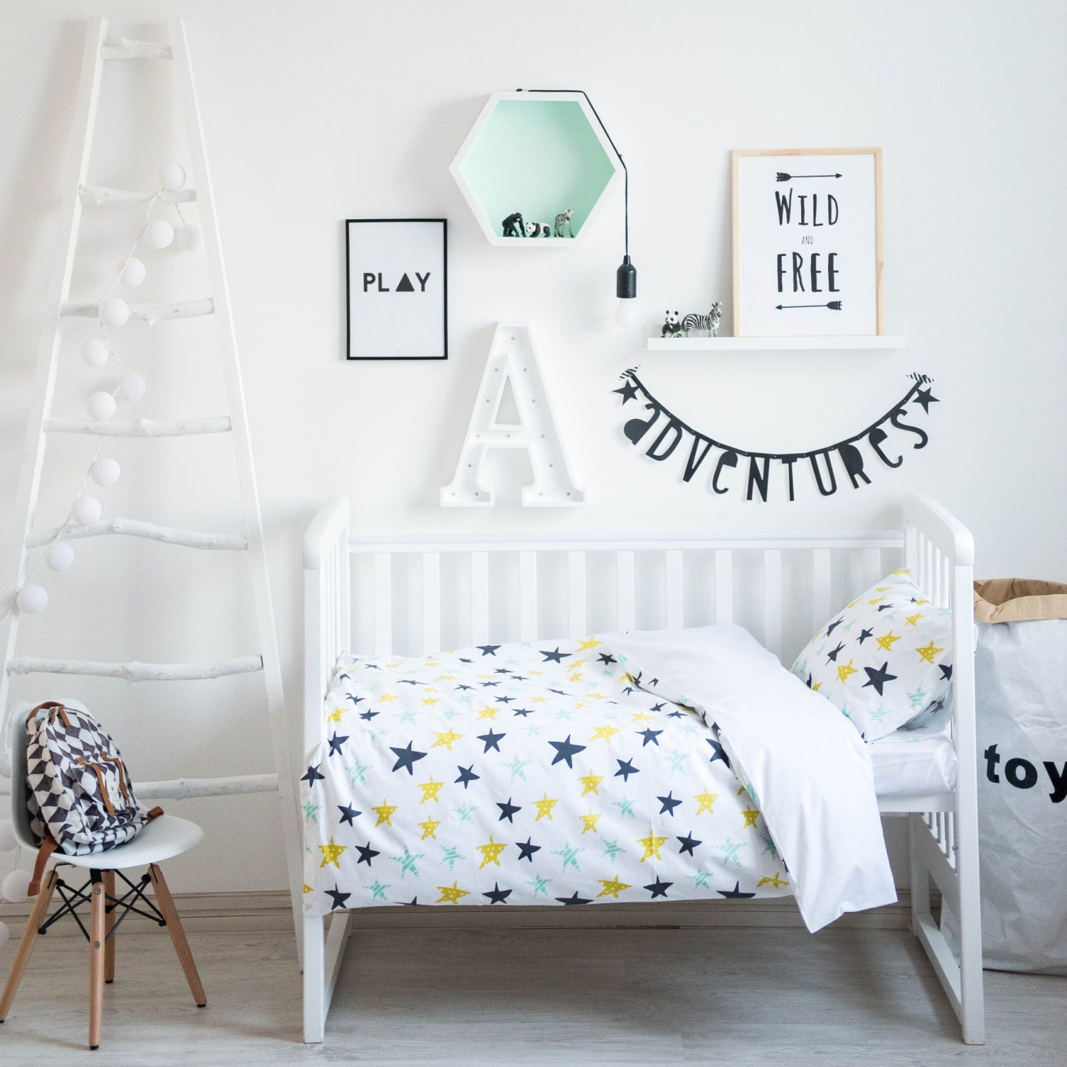Crib Bedding Sets With Stars Creative Ideas of Baby Cribs