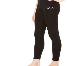 Alpha Sigma Alpha Spandex Leggings