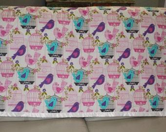 Too Tweet Quilt style Baby Blanket