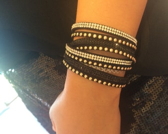 Crystal Wrap Bracelet