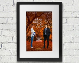 Digital Custom When Harry Met Sally Valentine's Poster Print