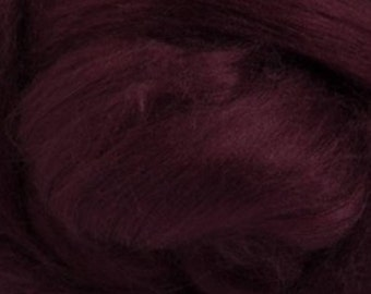 Tussah Silk Top One Ounce Color Soft Fruits For Felting or Spinning