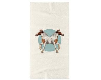 Horses Towel - Double Animals