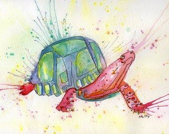 Turtle Power - PAiNtBABies - PRINT