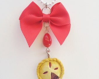 Cherry Pie Necklace