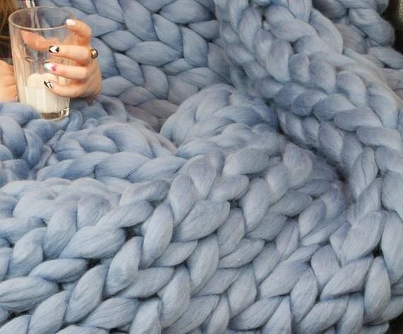 xxl klobige decke merino wolle decke werfen decke sofa throw. Black Bedroom Furniture Sets. Home Design Ideas