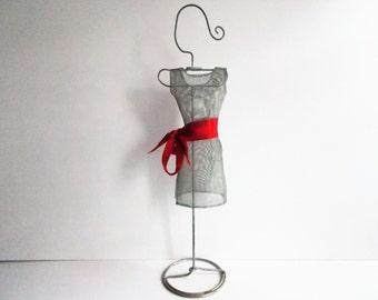 Vintage Miniature Dress Form Decor